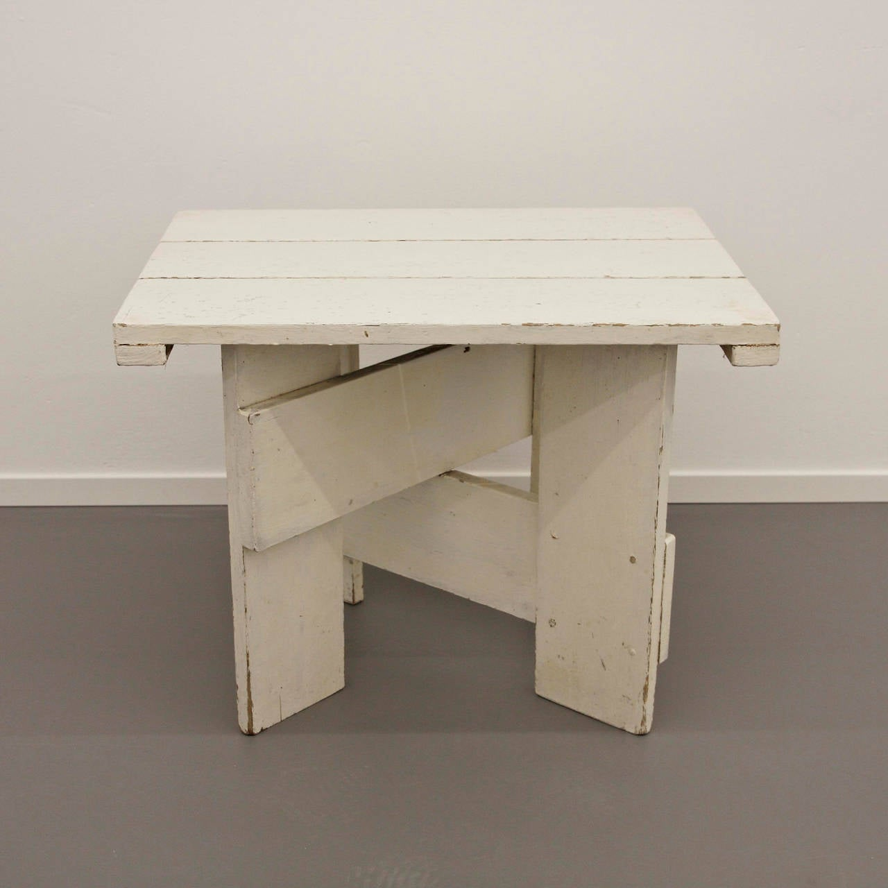 Gerrit Rietveld Crate Coffee Table Circa 1950 At 1stdibs