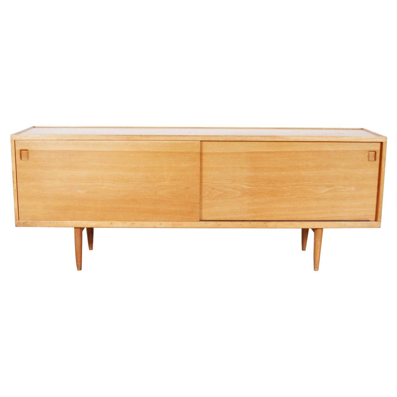 niels otto m ller oak sideboard circa 1960 for sale at. Black Bedroom Furniture Sets. Home Design Ideas