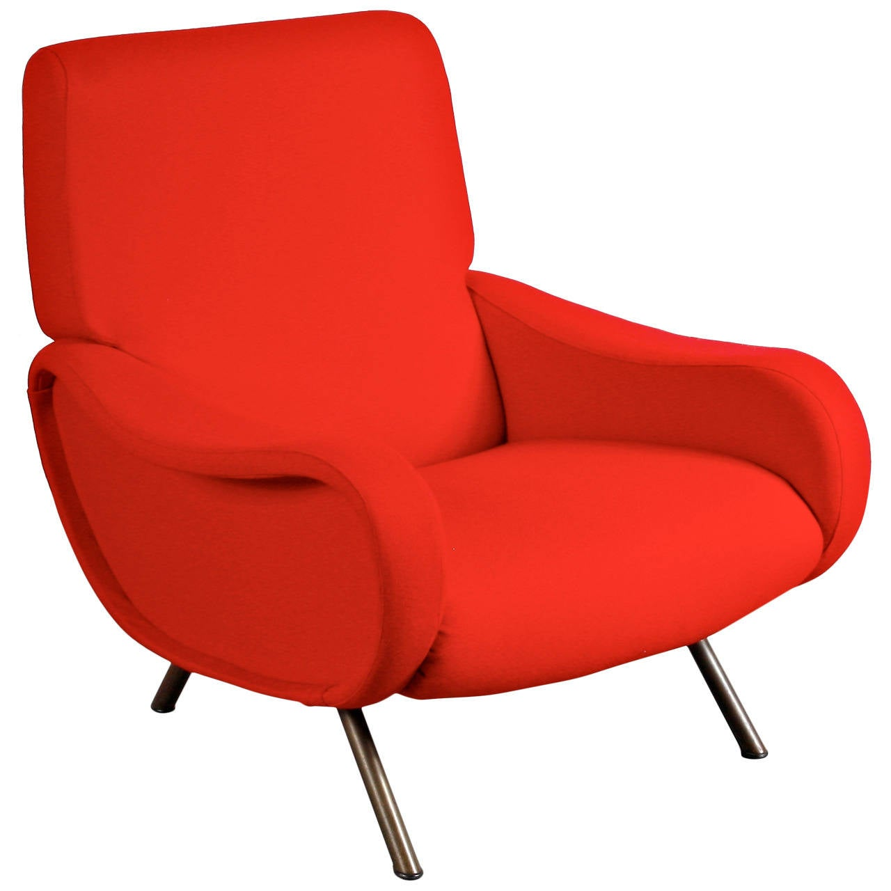 "First Edition ""Lady"" Easy Chair by Marco Zanuso for Arflex, Italy, circa 1950"