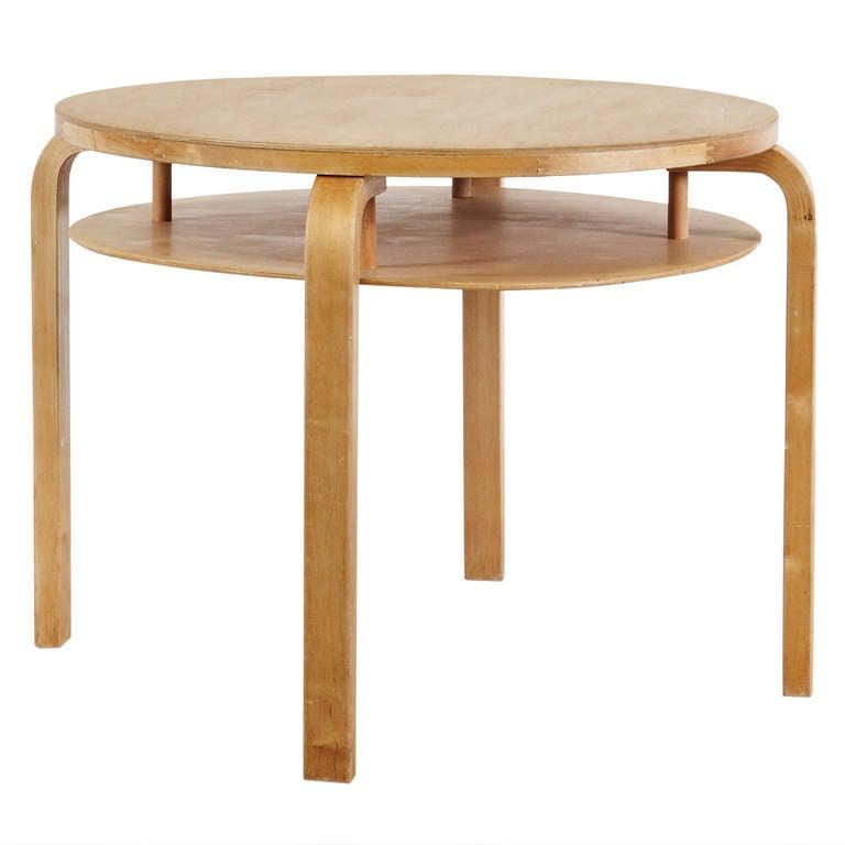 alvar aalto side table circa 1950 at 1stdibs. Black Bedroom Furniture Sets. Home Design Ideas