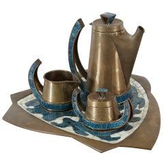 Salvador Teran Coffee Set, circa 1960