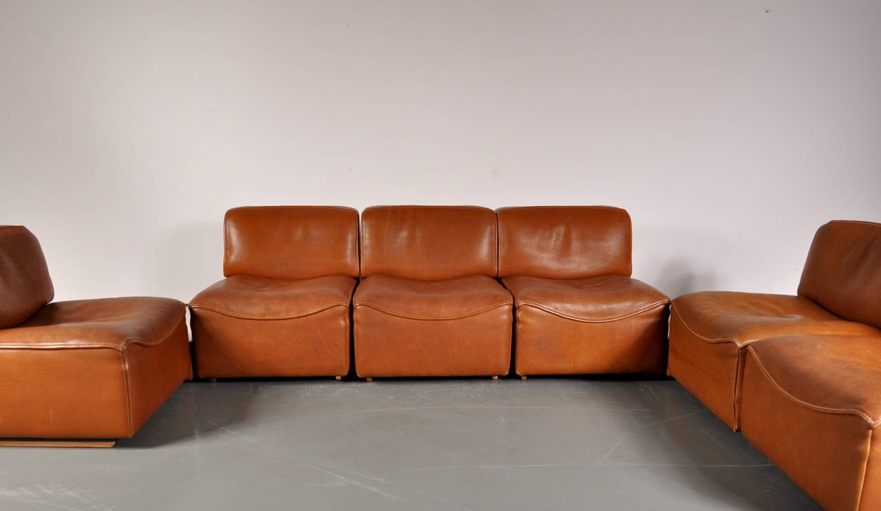 Leather Sectional Sofa By De Sede Switzerland Circa 1960 At 1stdibs ~ Best Quality Leather Sofa