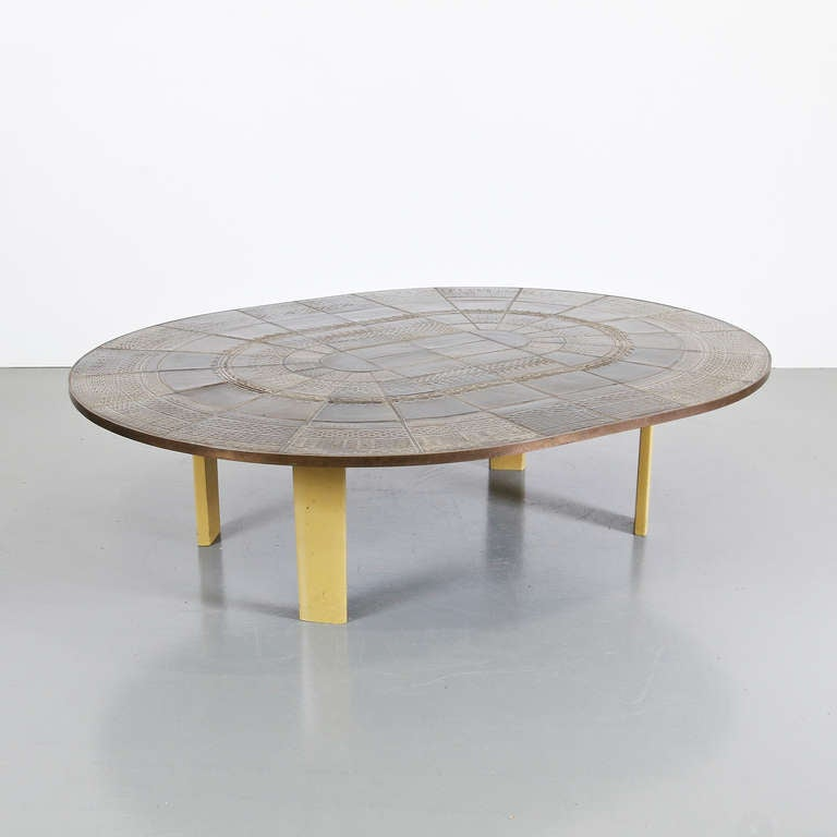 Bjorn Wiinblad Ceramic Coffee Table Circa 1960 For Sale At 1stdibs