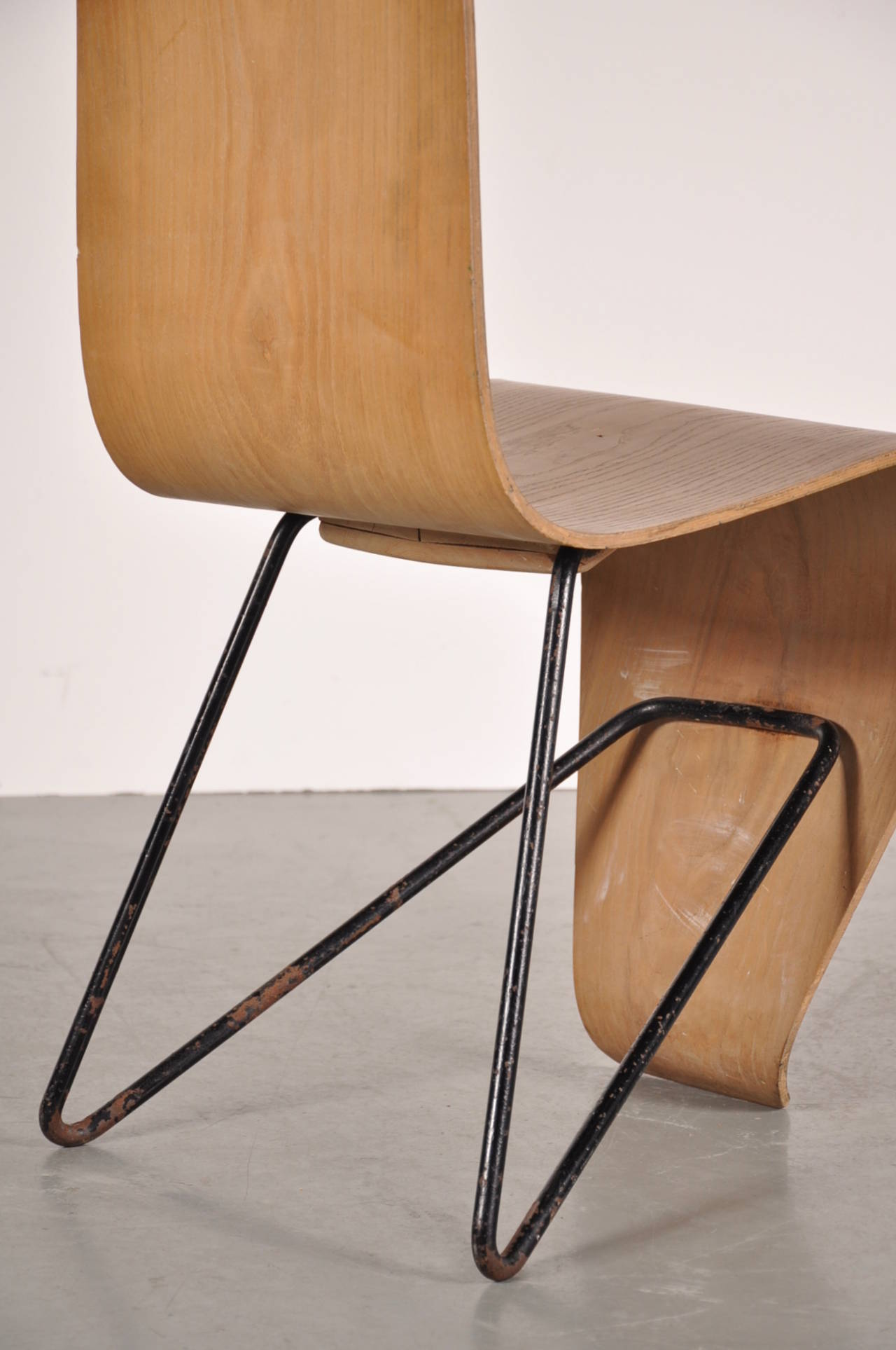 Original bellevue chair by andr bloc circa 1950 for sale for Furniture in bellevue