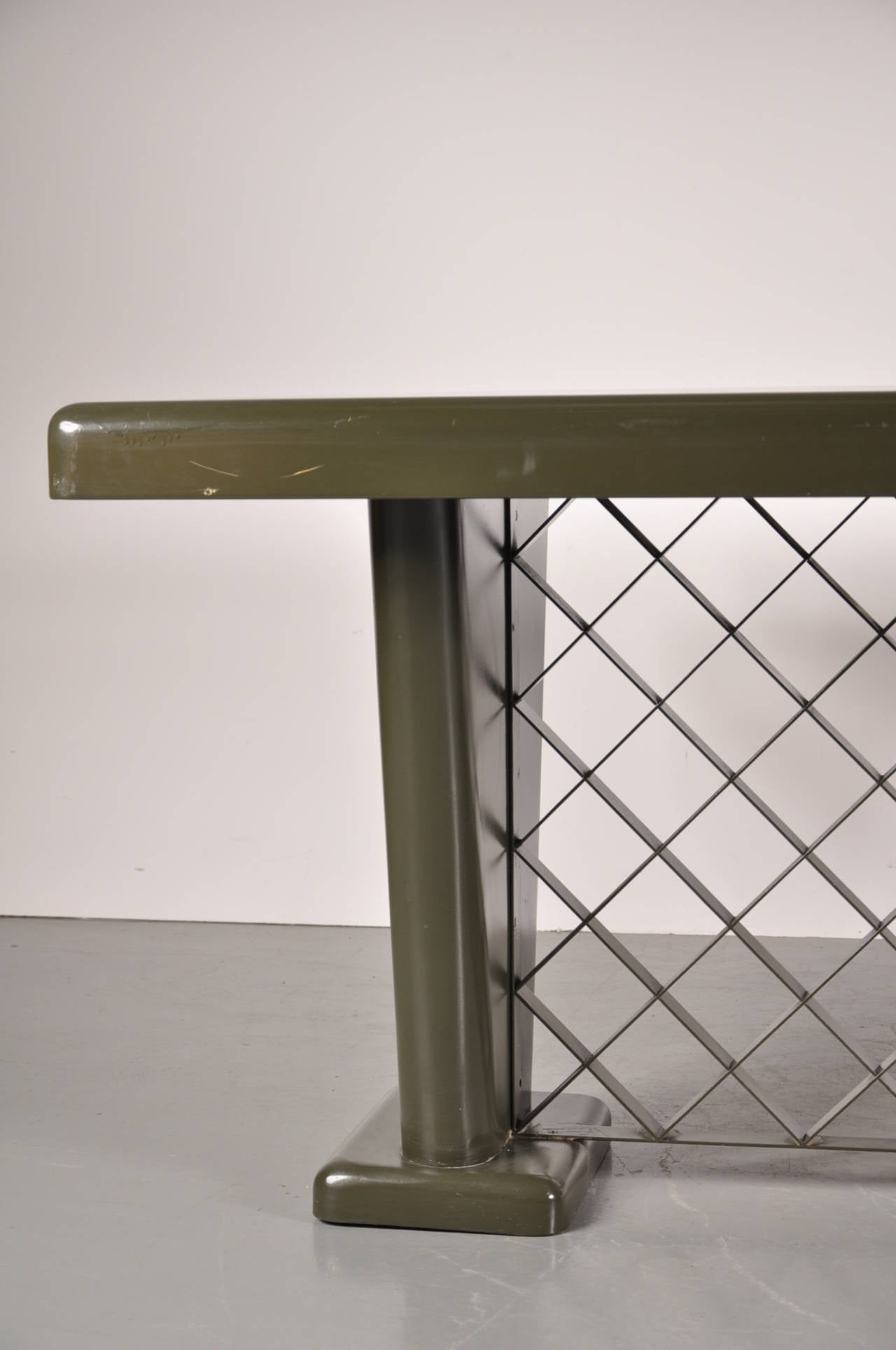 German Art Deco Metal Table, circa 1930 For Sale 3
