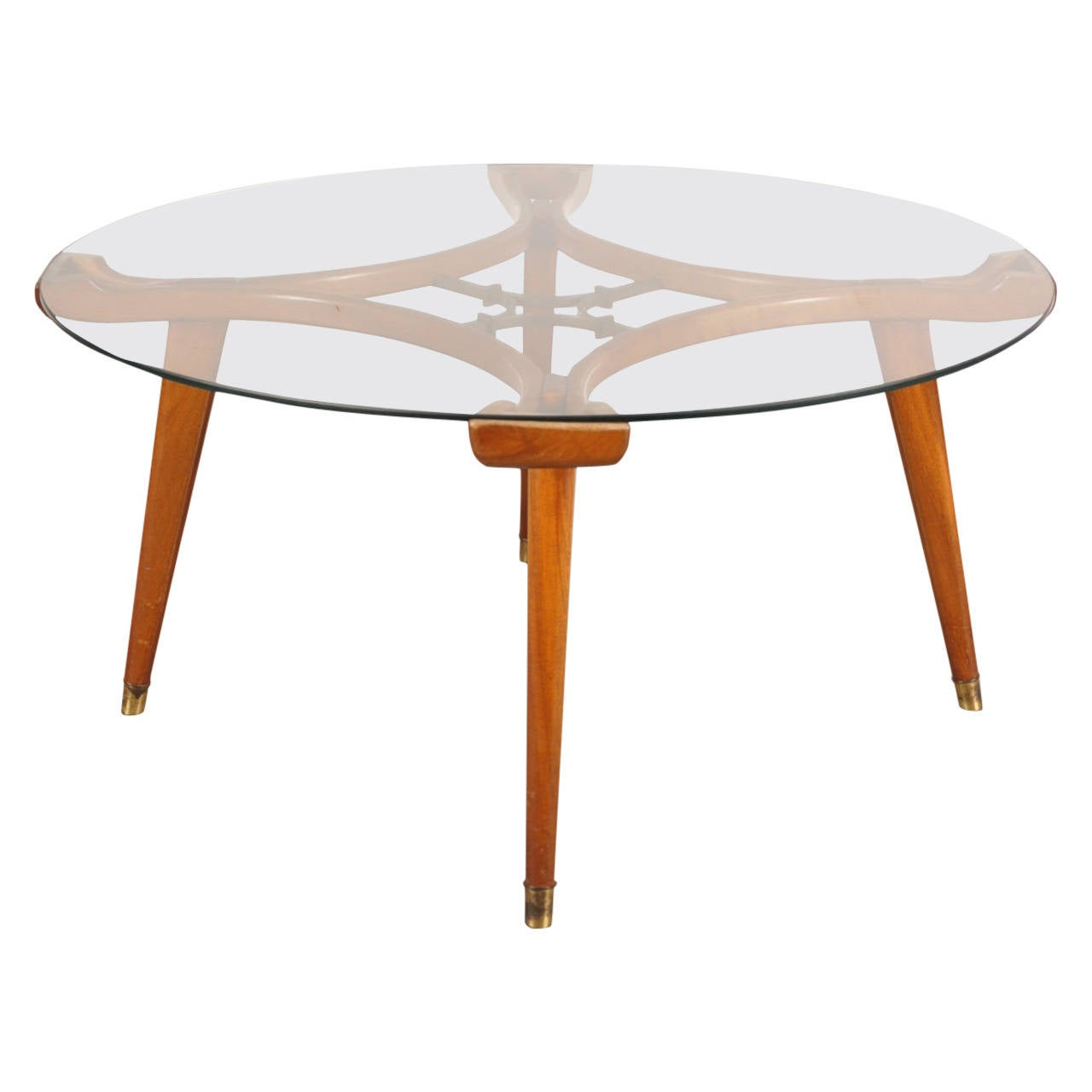 Round Coffee Table by William Watting for Fristo, circa 1955