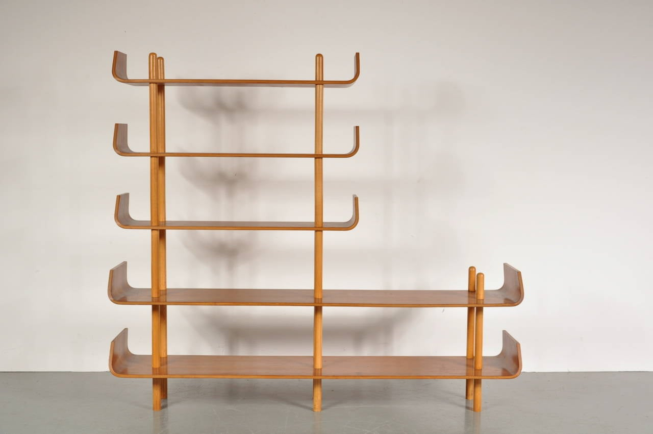 Bookcase by Willem Lutjens for De Boer Gouda, 1953 2