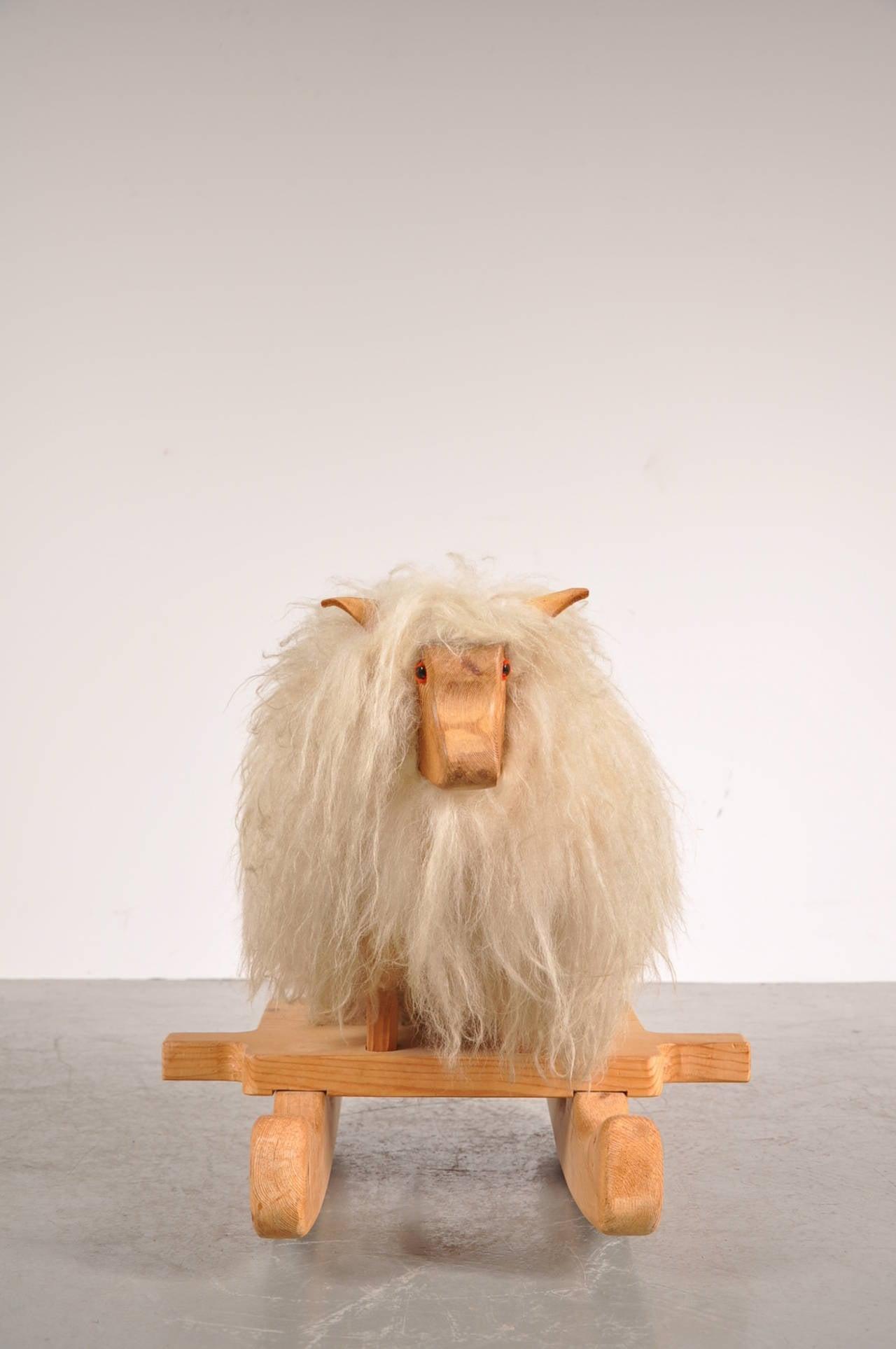 Rare Rocking Sheep Circa 1960 For Sale At 1stdibs