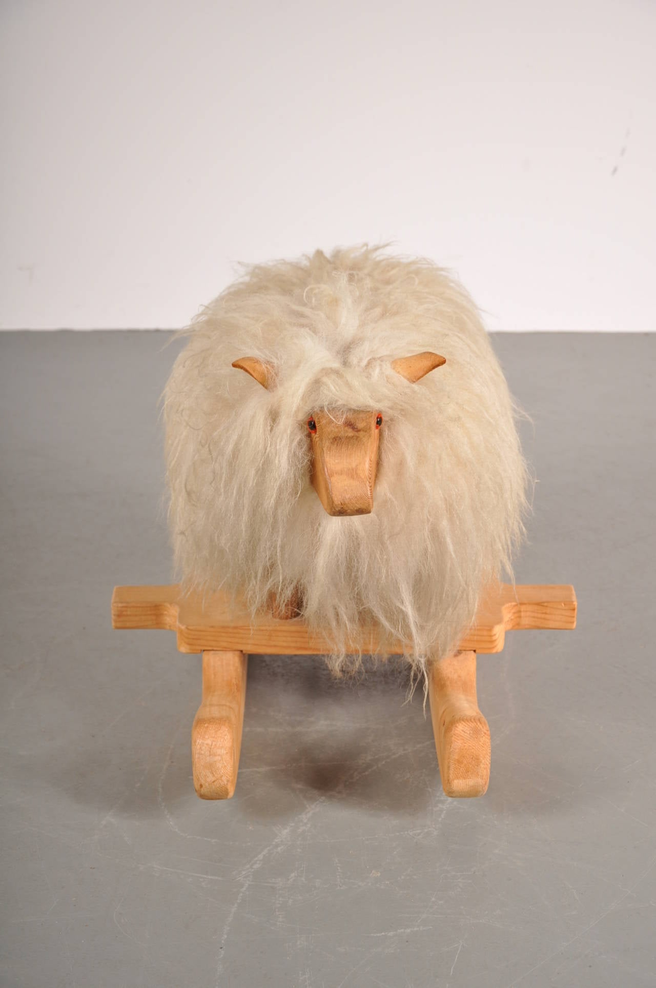 Rare Rocking Sheep Circa 1960 For Sale At 1stdibs