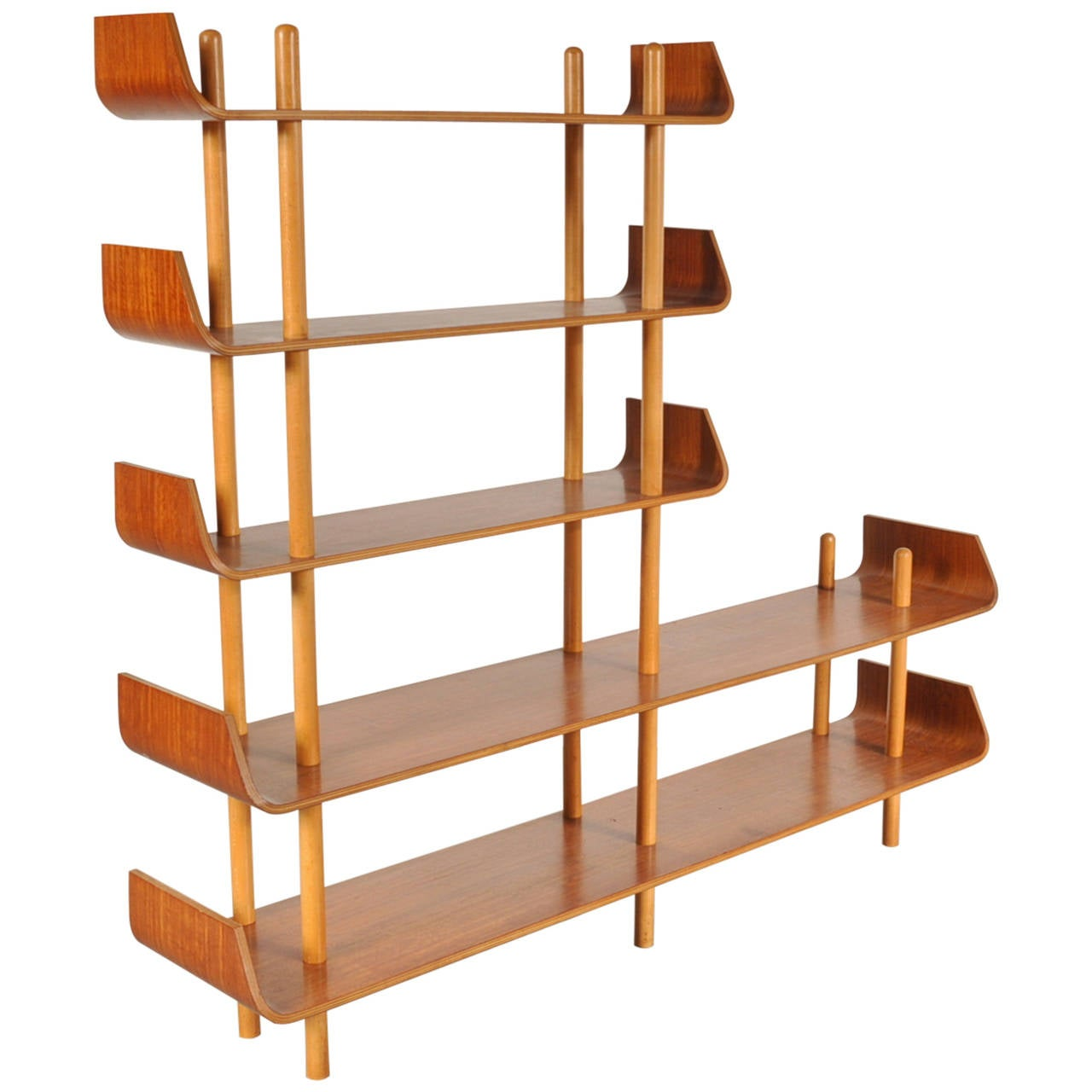 Bookcase by Willem Lutjens for De Boer Gouda, 1953 1