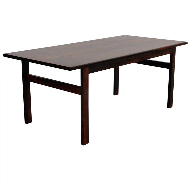 Illum Wikkelso Rosewood Side Table