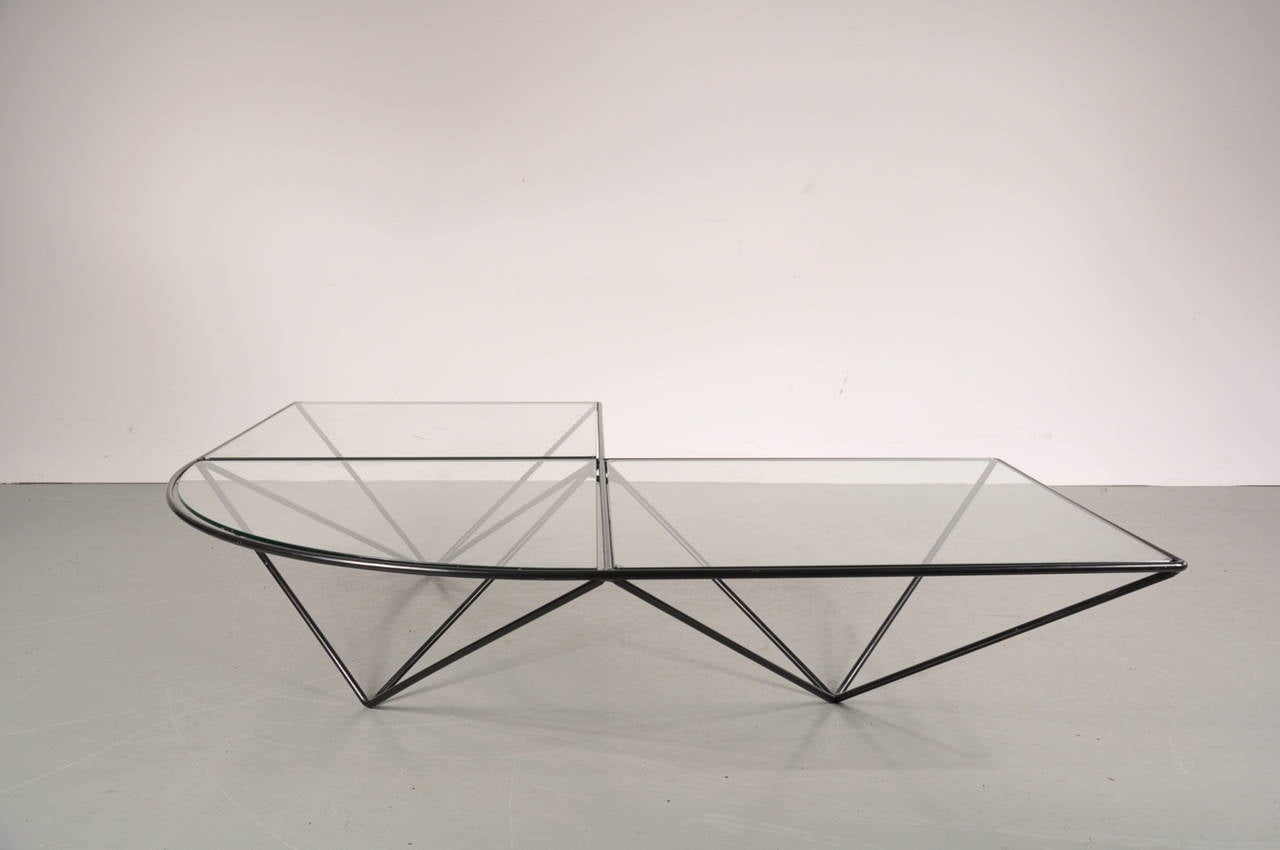 Corner Table By Paolo Piva For B B Italia Circa 1980 For Sale At 1stdibs