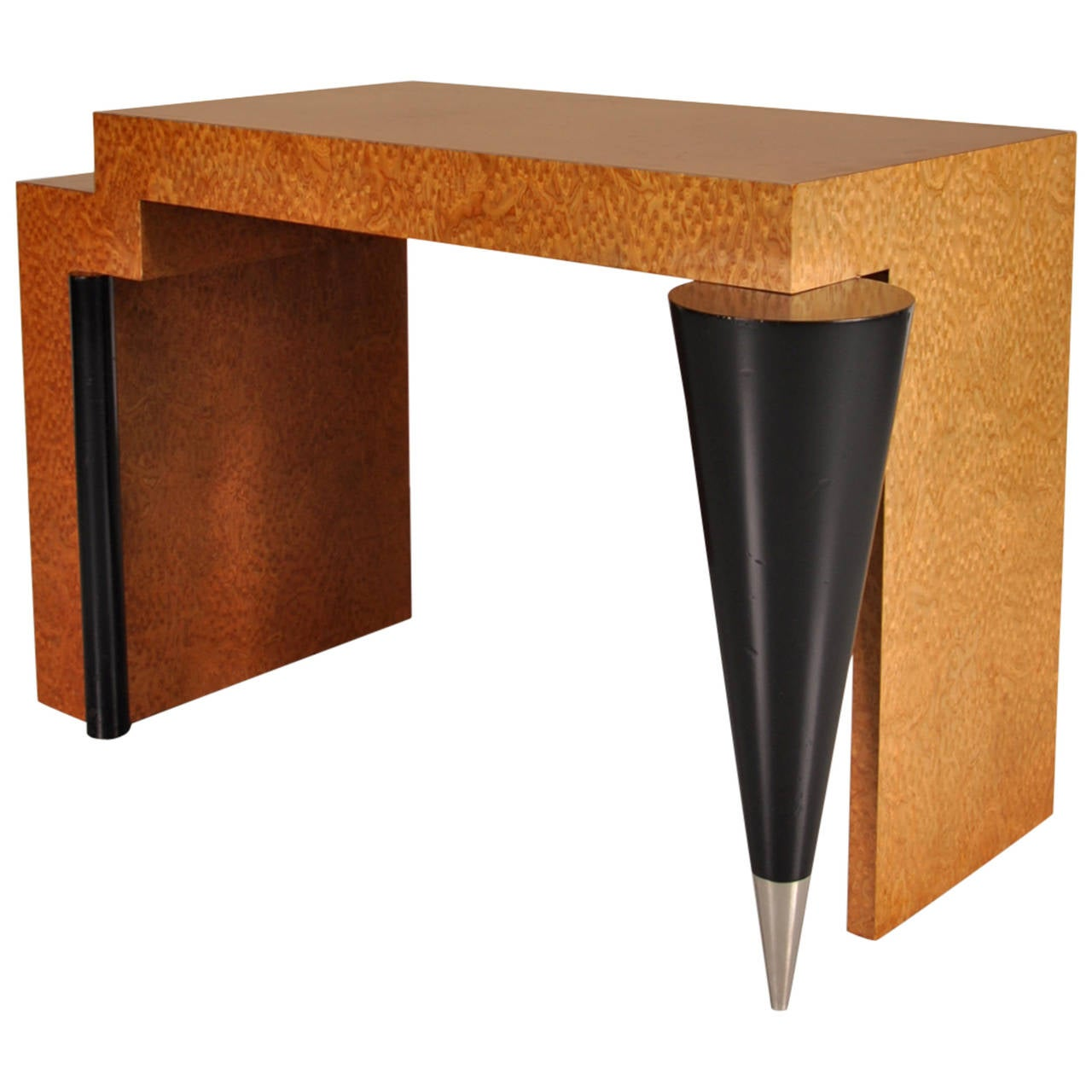 Memphis Style Desk Or Console Table, Circa 1980 For Sale