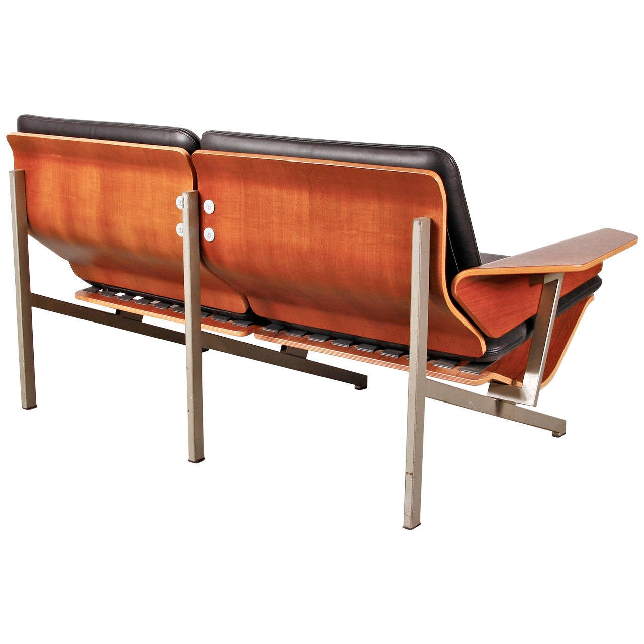 Two-seat sofa, model FM50 designed by Cornelis Zitman in 1964.