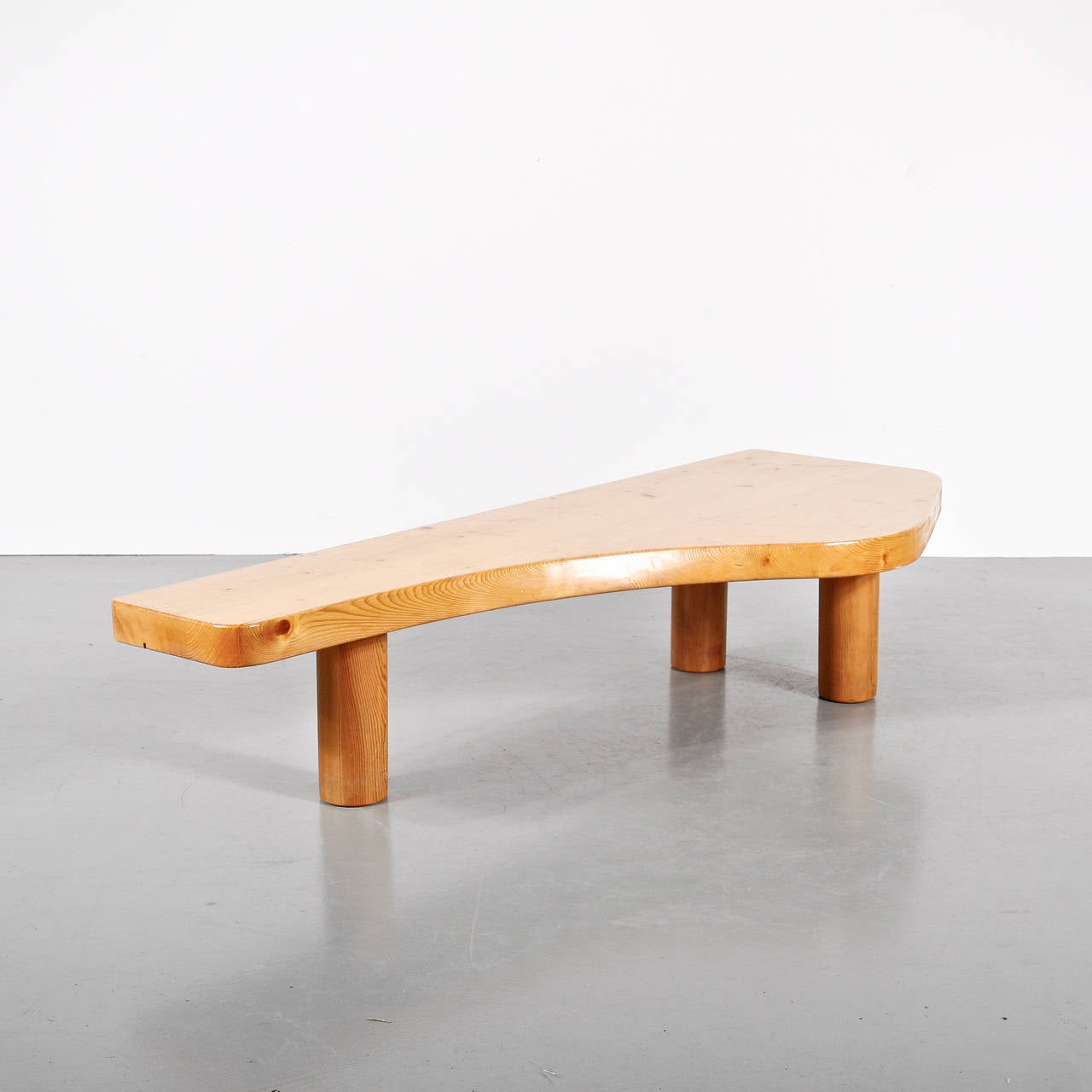 charlotte perriand coffee table circa 1960 for sale at 1stdibs. Black Bedroom Furniture Sets. Home Design Ideas