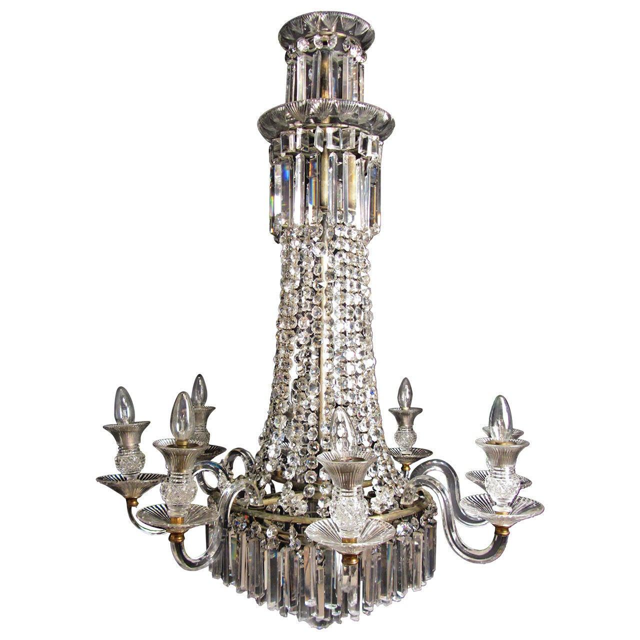English regency chandelier for sale at 1stdibs english regency chandelier 1 mozeypictures Gallery