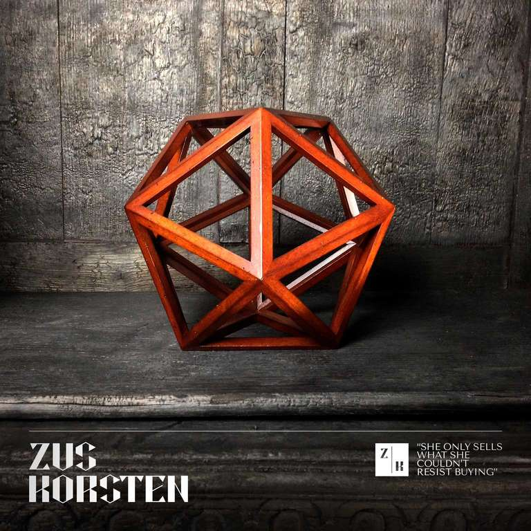 Dutch Geometric Wooden Structures