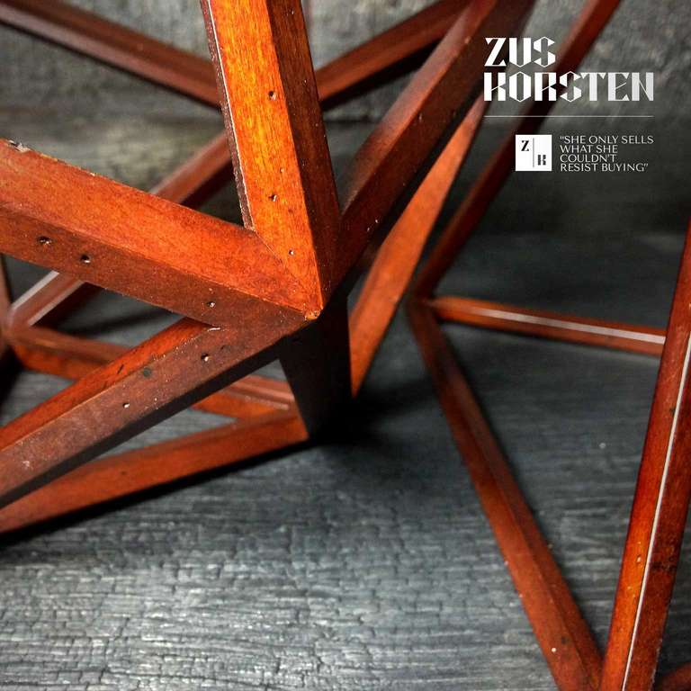 Geometric Wooden Structures 1