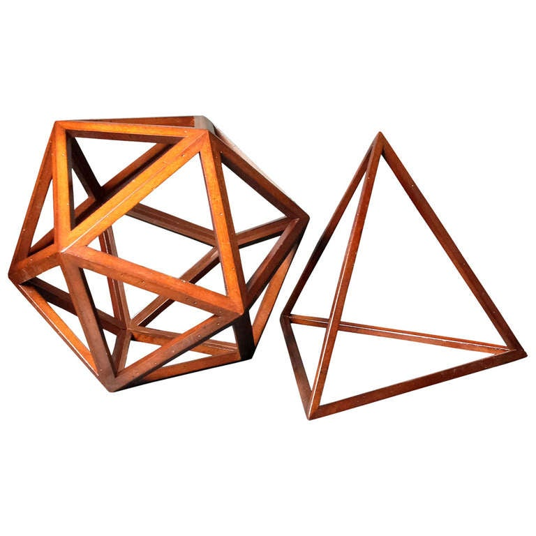 Geometric Wooden Structures
