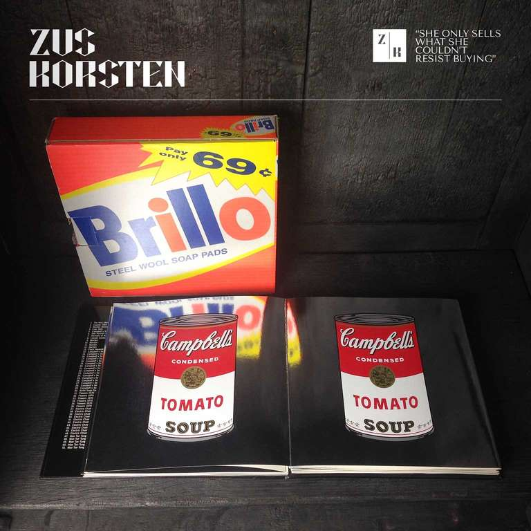 Rare Andy Warhol Catalog in Brillo Box In Excellent Condition For Sale In Haarlem, NL