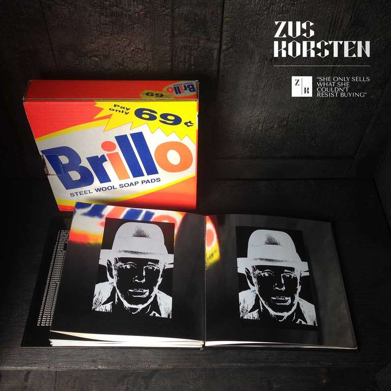 Rare Andy Warhol Catalog in Brillo Box For Sale 1