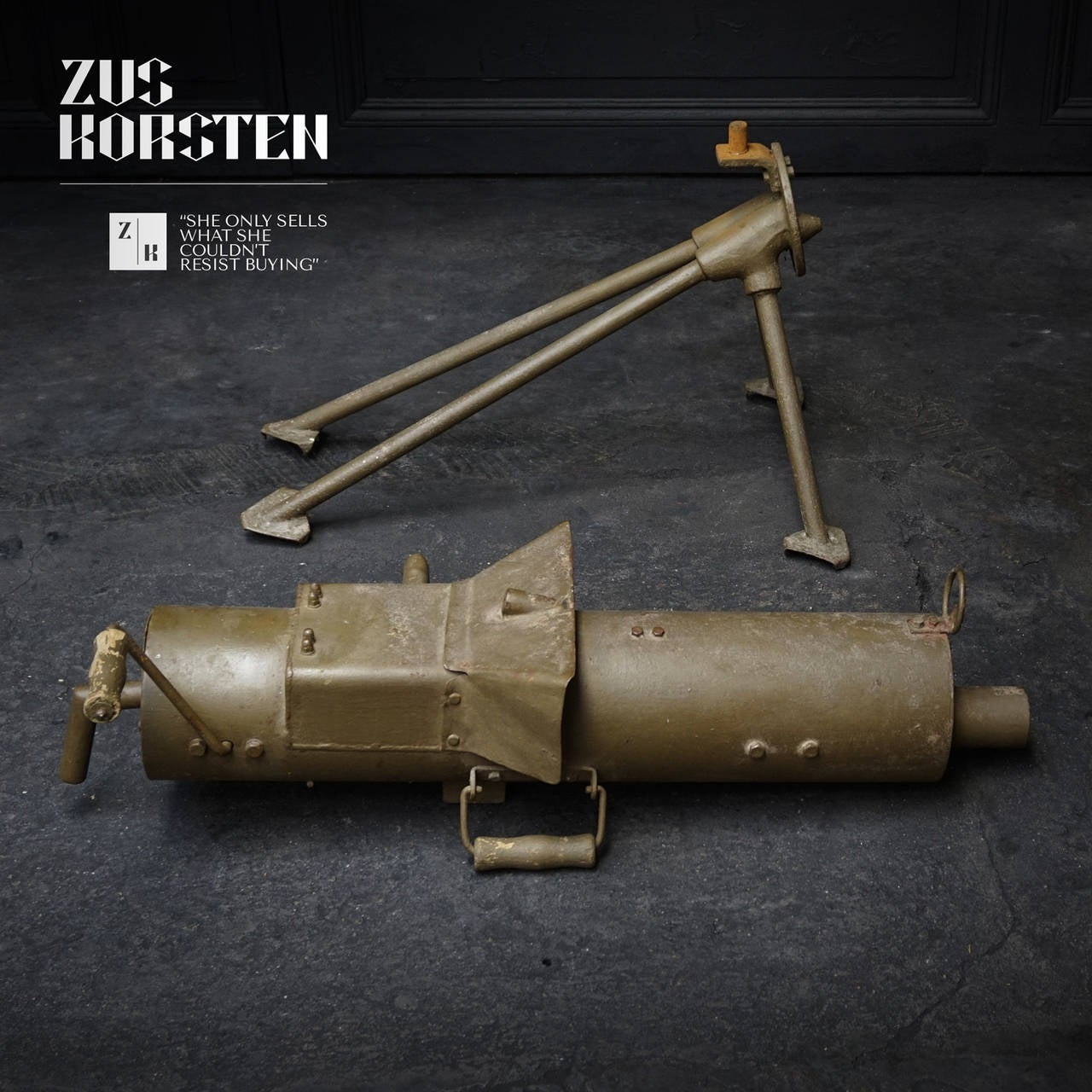 early machine gun