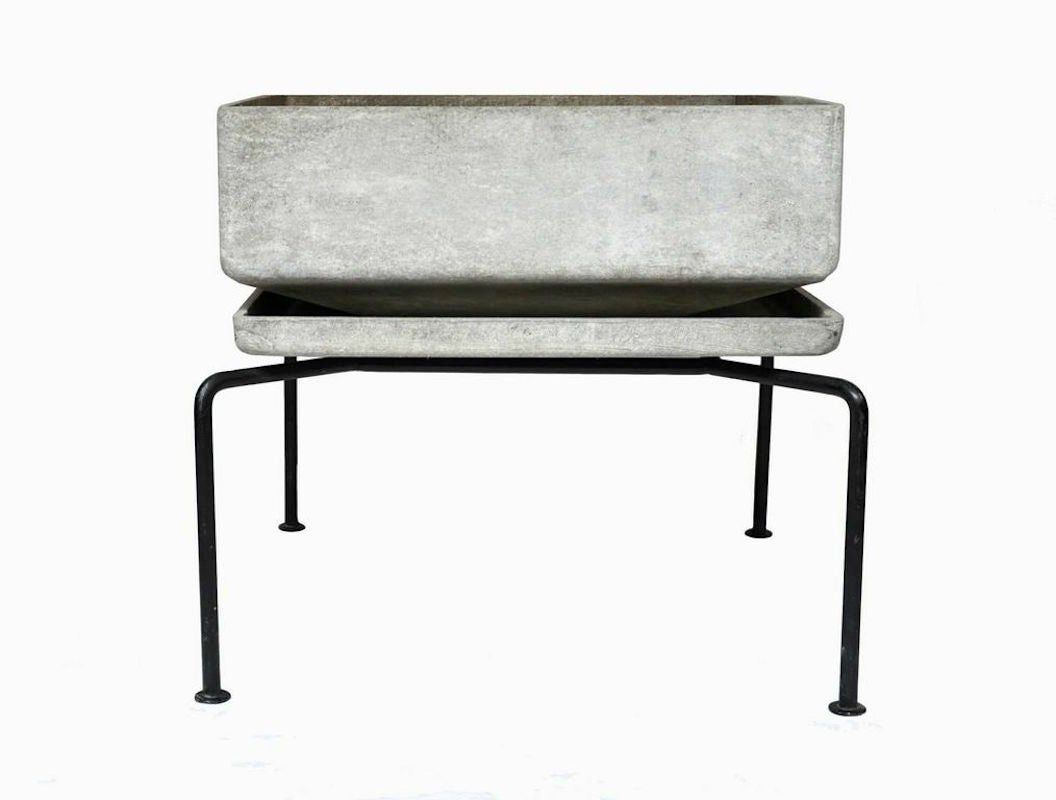 fiber cement jardiniere by bruno rey at 1stdibs. Black Bedroom Furniture Sets. Home Design Ideas