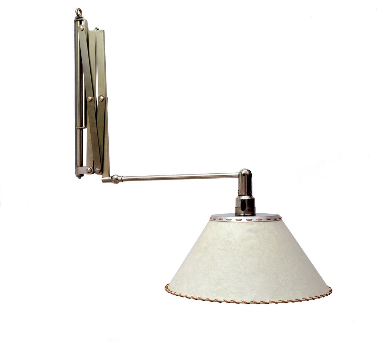 Wall Lamps Retractable : BAG TURGI for Wohnberdarf Retractable Lamp For Sale at 1stdibs