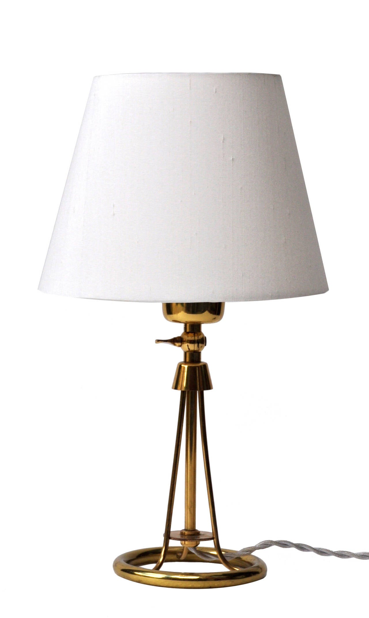 Pair Of Alfred Muller Bedside Lamps For Sale At 1stdibs