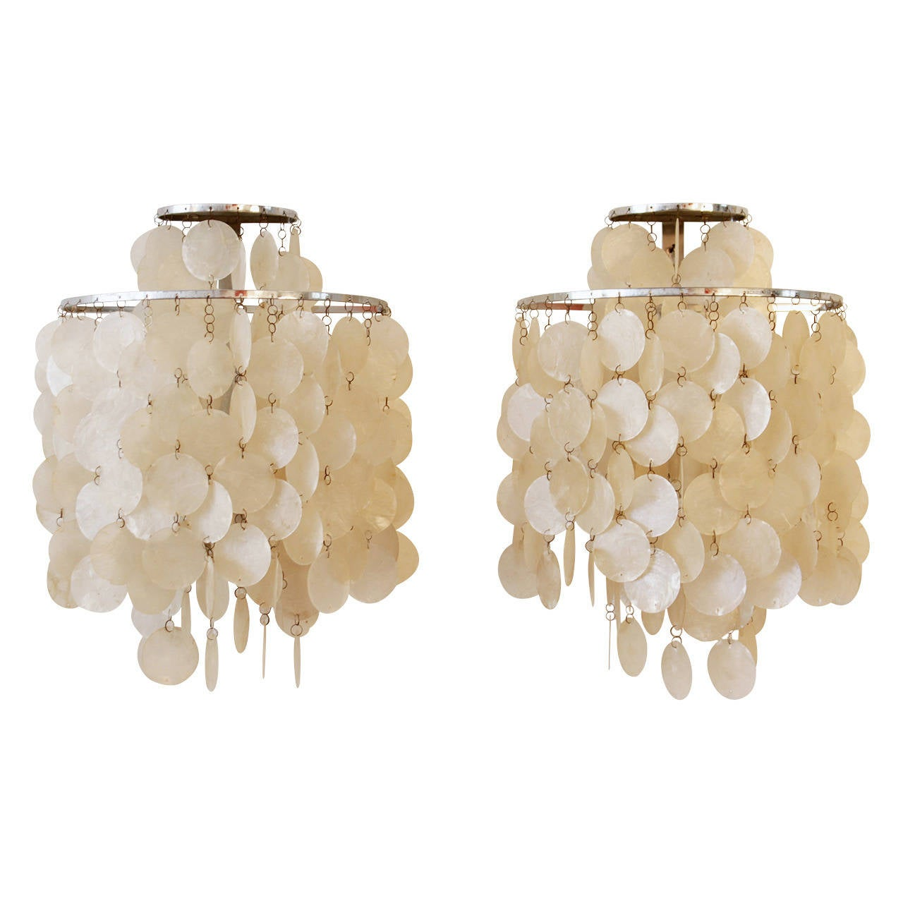 Verner panton pair of shell wall lamps by jlber for sale at 1stdibs verner panton pair of shell wall lamps by jlber for sale mozeypictures Choice Image