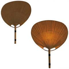 Ingo Maurer Uchiwa Pair of Wall Lamps