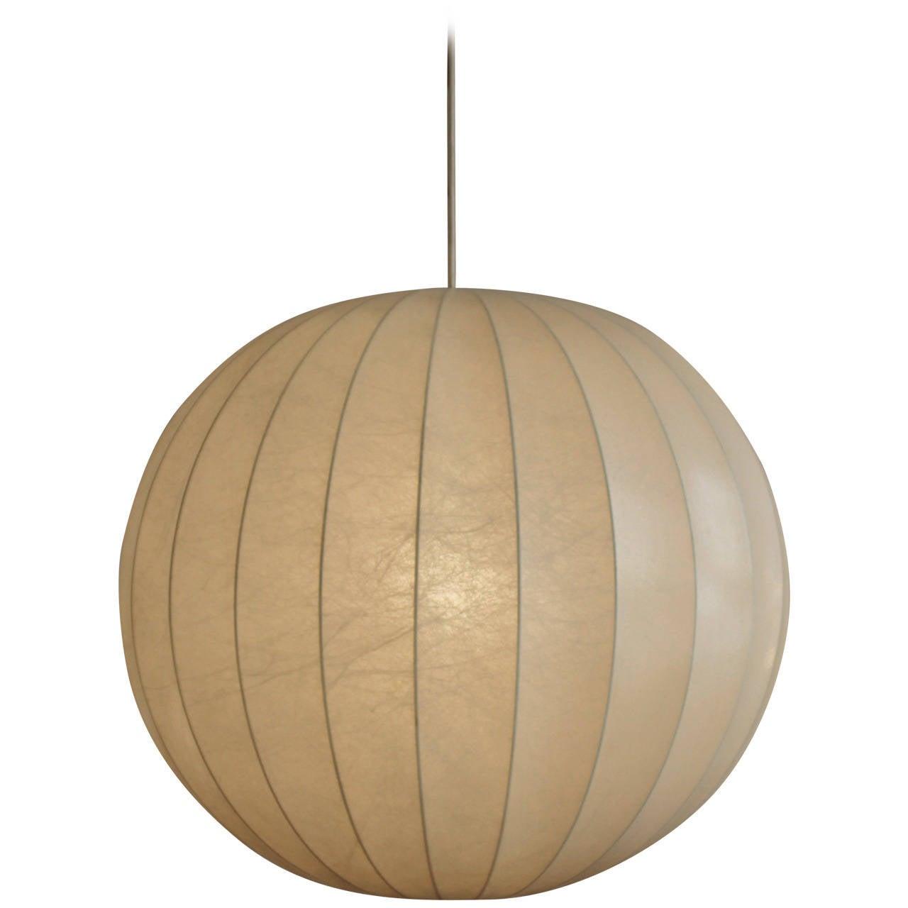 big castiglioni s cocoon sphere pendant l at 1stdibs