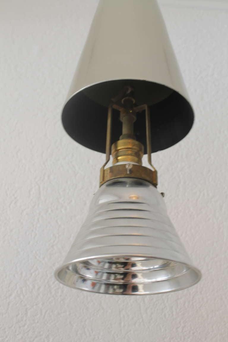 Alumag Belmag Three Cone Shape Pendant Lamps For Sale At 1stdibs