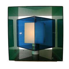 Stilnovo Acrylic Kinetic Cube Lamp