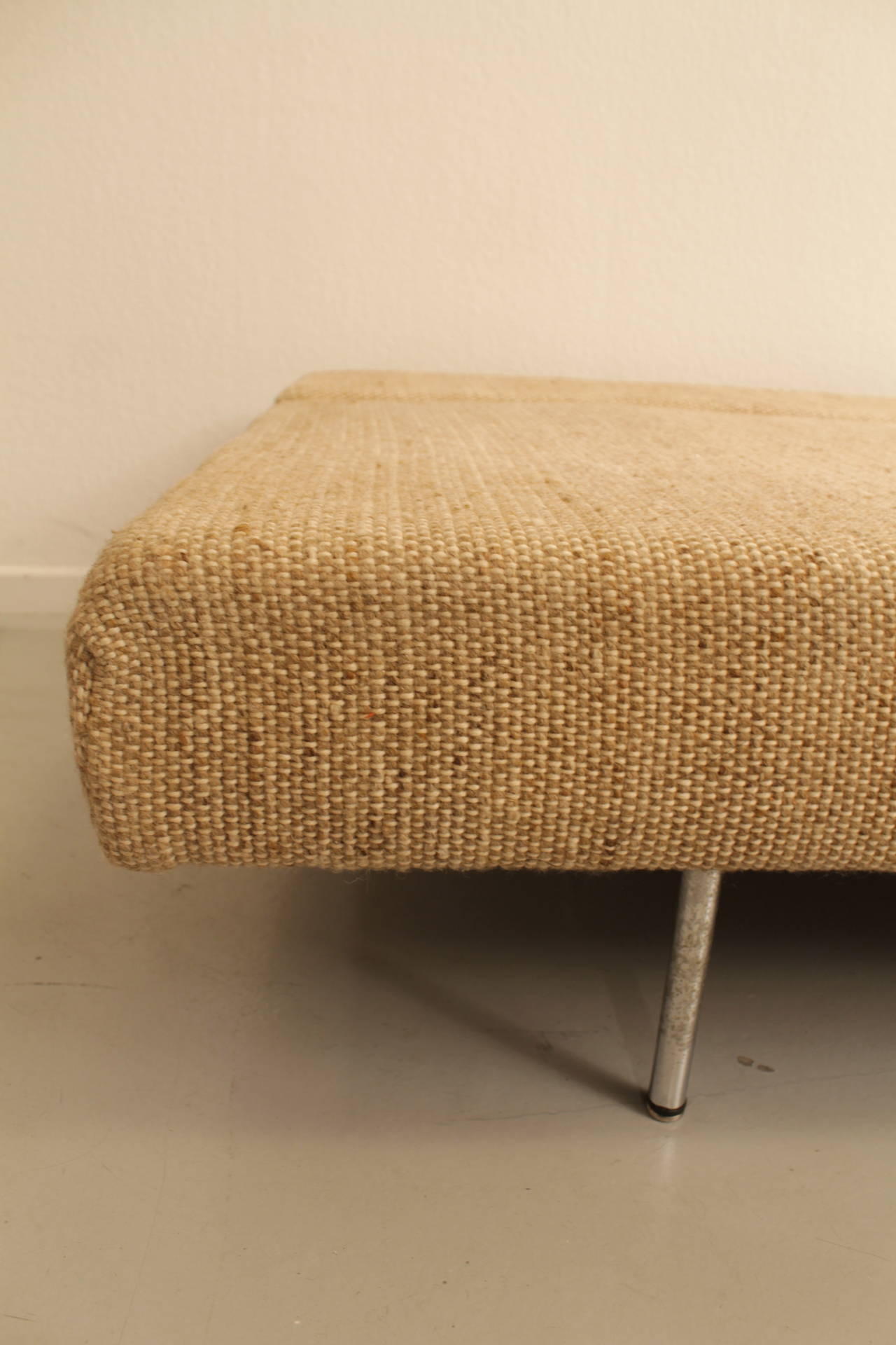 Minimalist 1950s swiss sofa bed at 1stdibs for Minimalist sofa