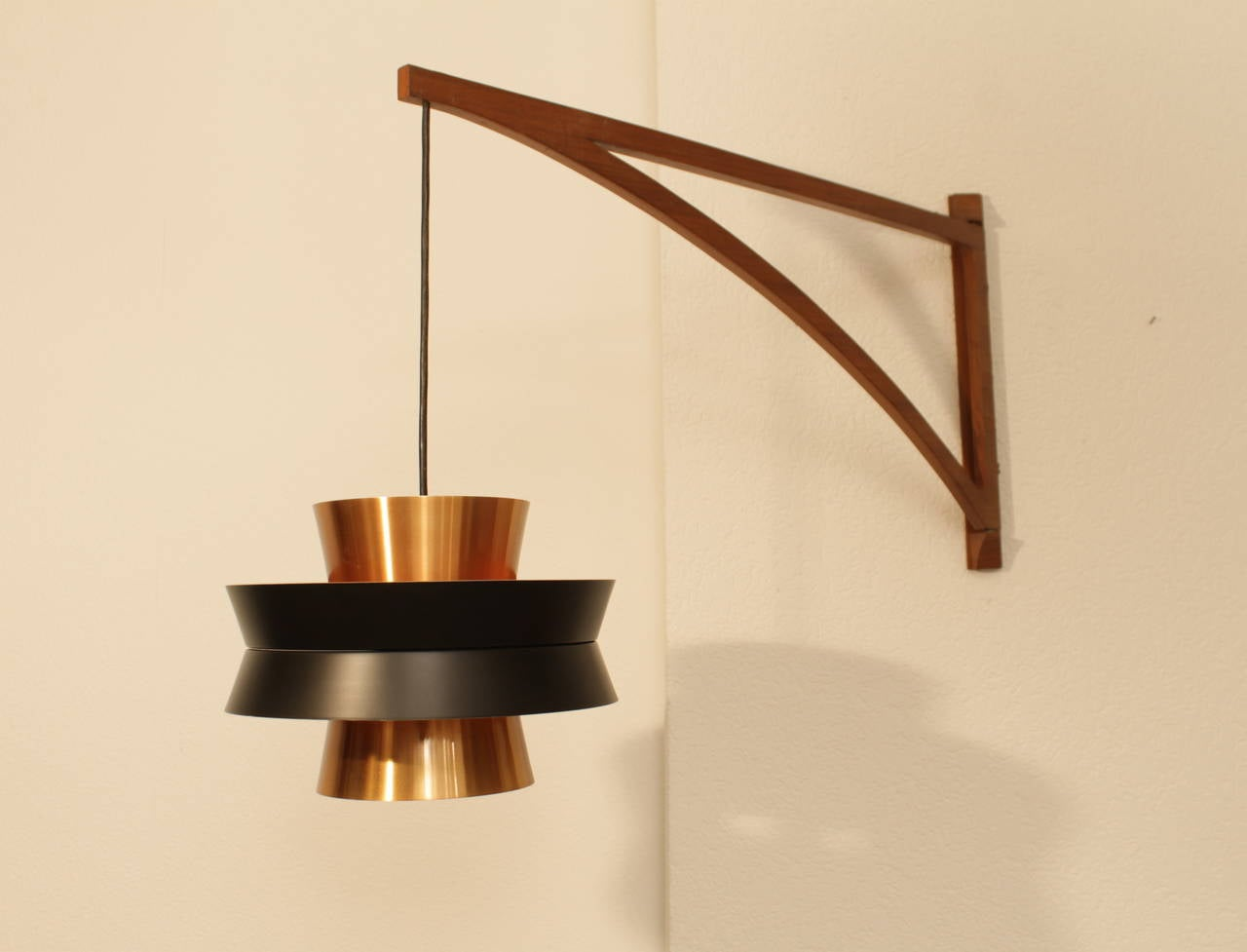 Jo Hammerborg Copper Wall Lamp at 1stdibs
