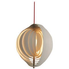 Vintage Louis Poulsen Moon Lamp by Verner Panton