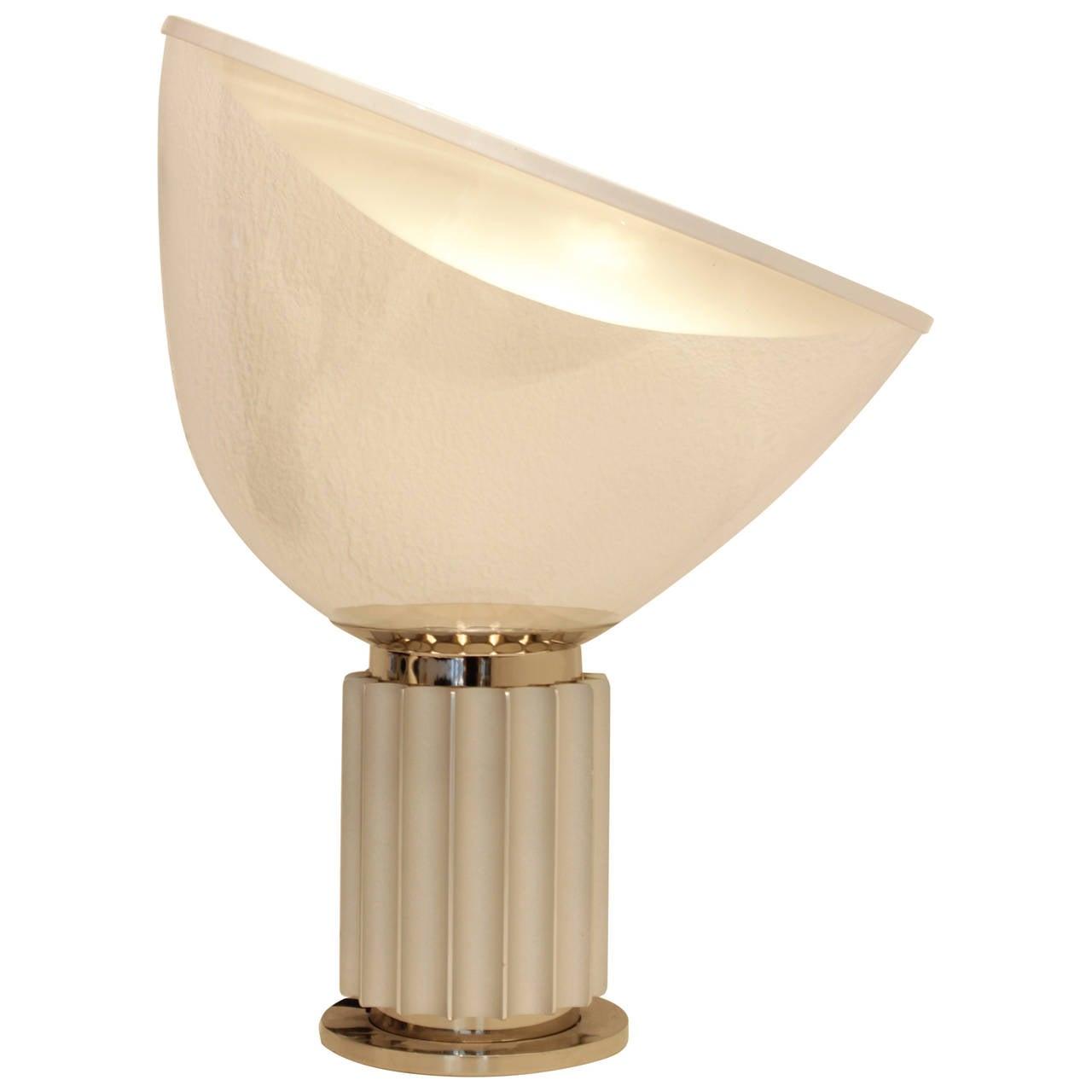 Taccia table lamp by castiglioni at 1stdibs for Castiglioni light