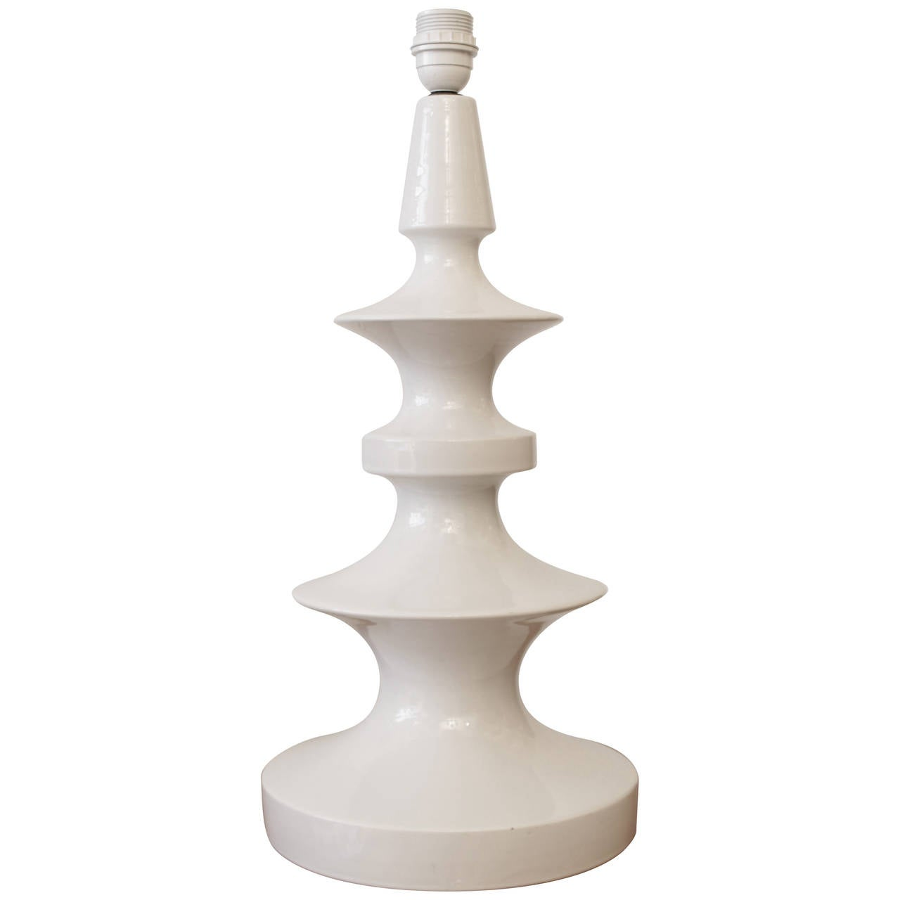 Margrit Linck Glazed Ceramic Table Lamp