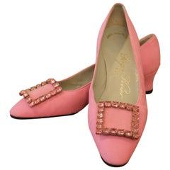 Roger Vivier 1960s Pink Pumps