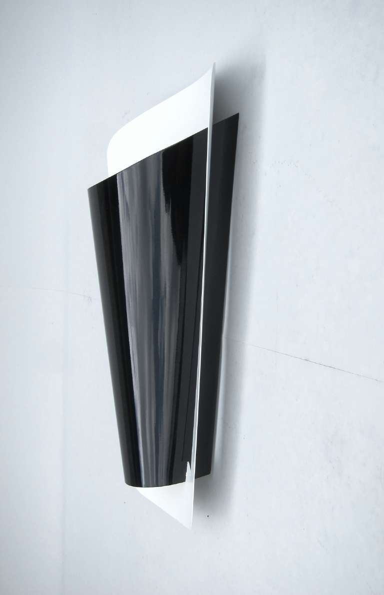 prestigious wall light for indirect lighting 1950s at 1stdibs. Black Bedroom Furniture Sets. Home Design Ideas