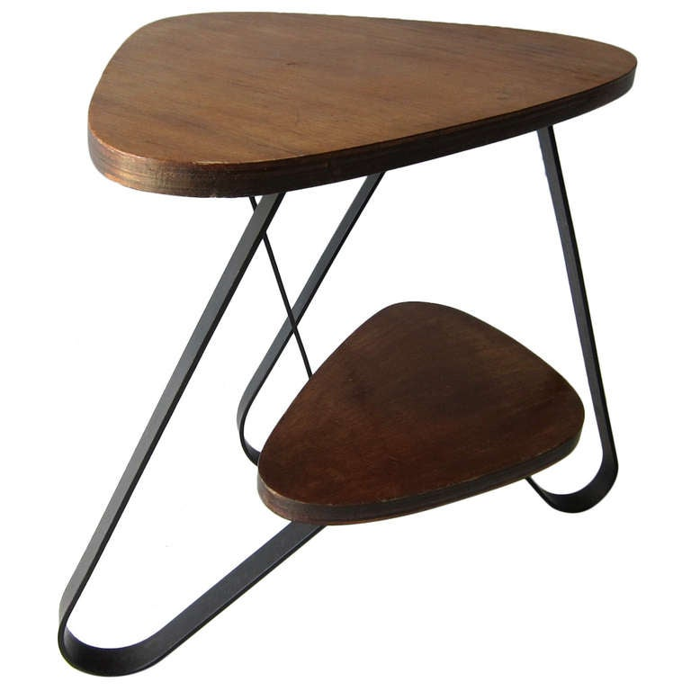 French 1950s Loop Coffeetable At 1stdibs