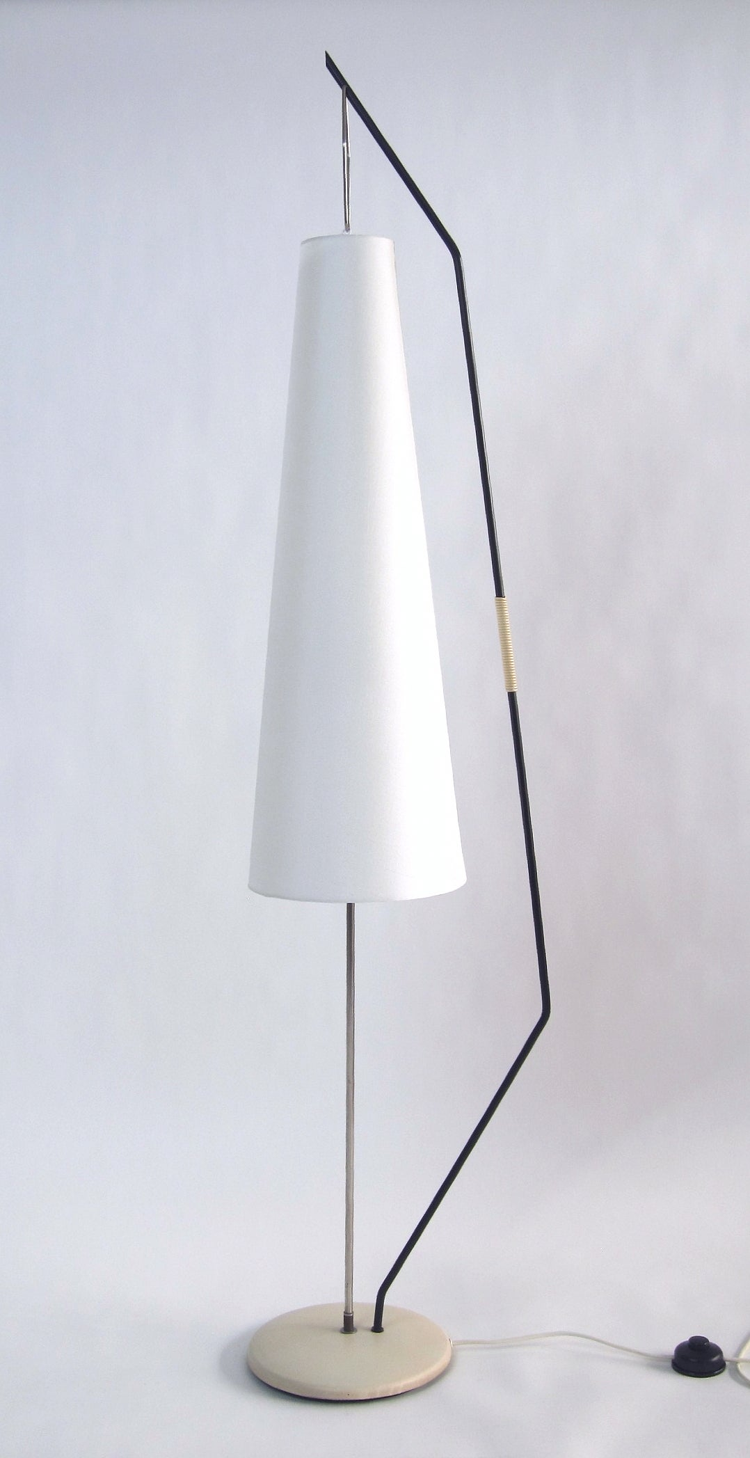 French floor lamp 1950s at 1stdibs for 1950 floor lamp