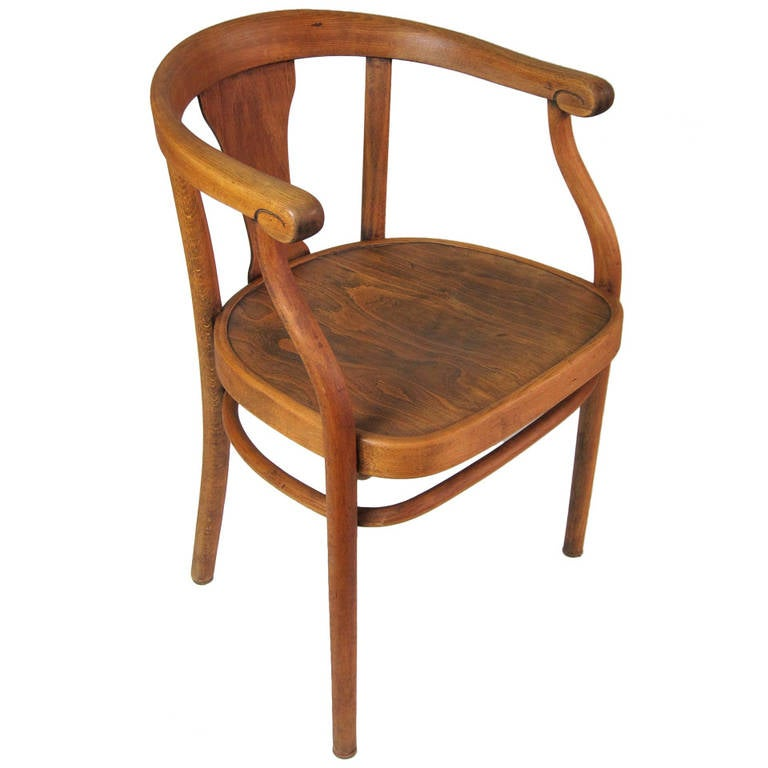 beautiful wooden thonet chair, 1920s at 1stdibs