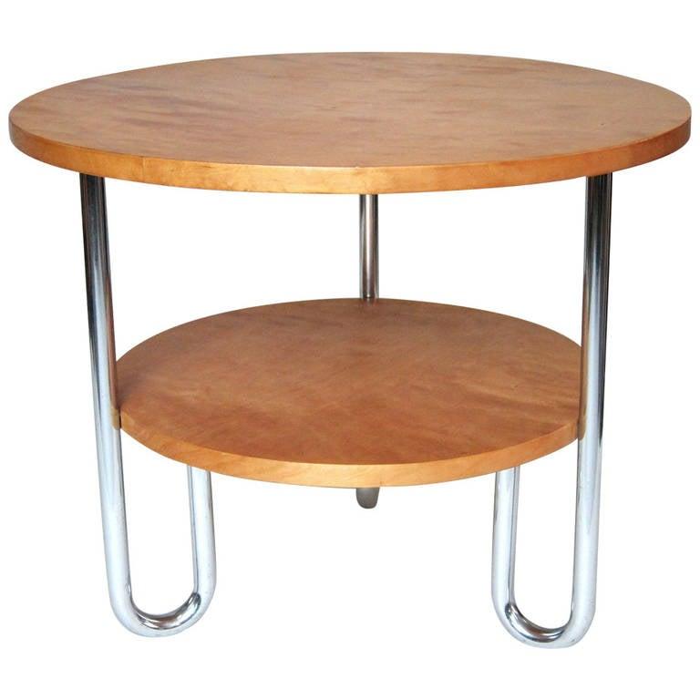 Embru Bilevel Bauhaus Coffee Table At 1stdibs