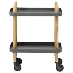 Block Table Dark Grey