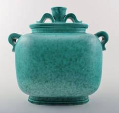 Swedish Glass Storage Jars Small