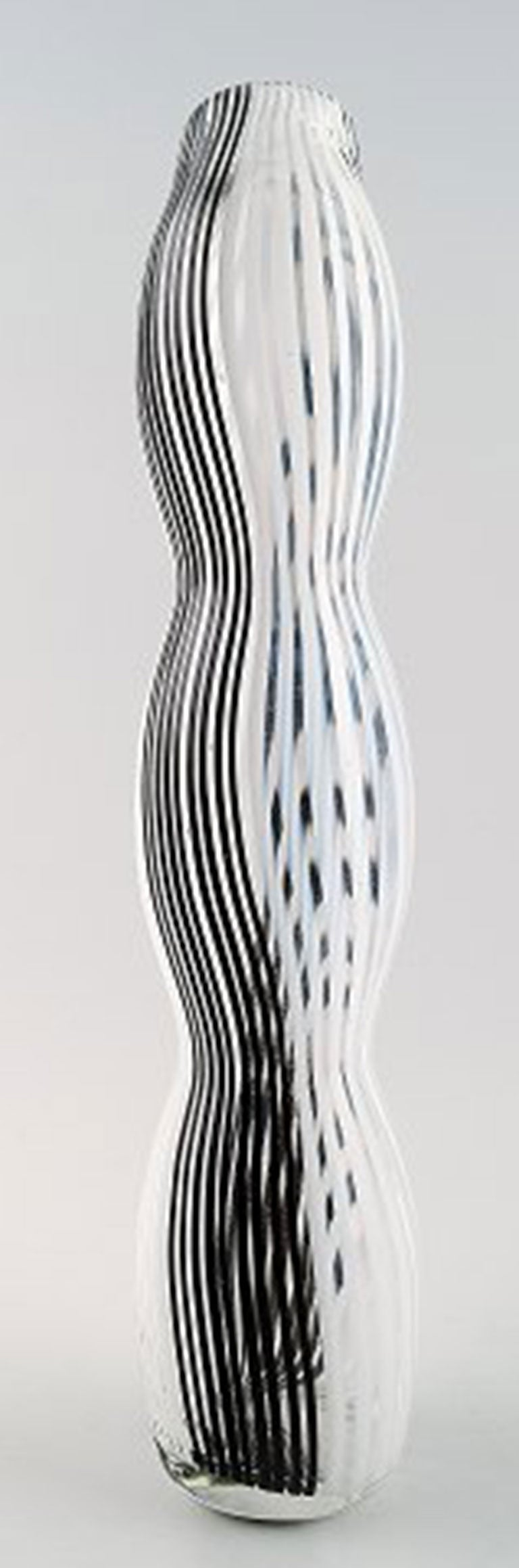 Murano Vase Murano Large Art Glass Vase