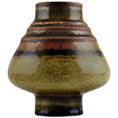 "Rörstrand ""GA"" Stoneware Vase"