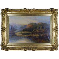 Daniel Sherrin (b. 1868, d. 1940) Scottish Landscape, Signed